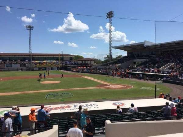 Joker Marchant Stadium, section: 210, row: G, seat: 13