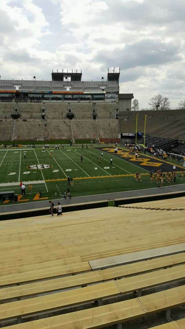 Faurot Field, section: 122, row: 37, seat: 25