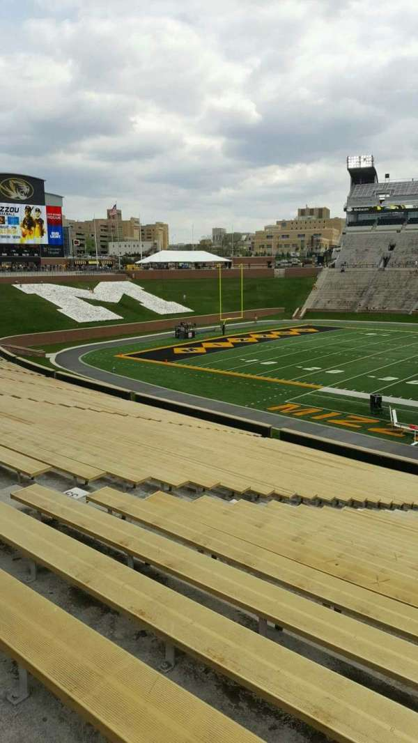 Faurot Field , section: 121, row: 39, seat: 21