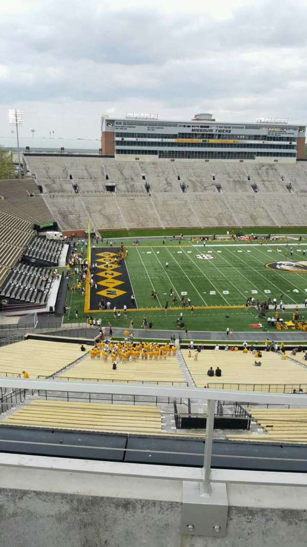 Faurot Field, section: 303, row: 2, seat: 7