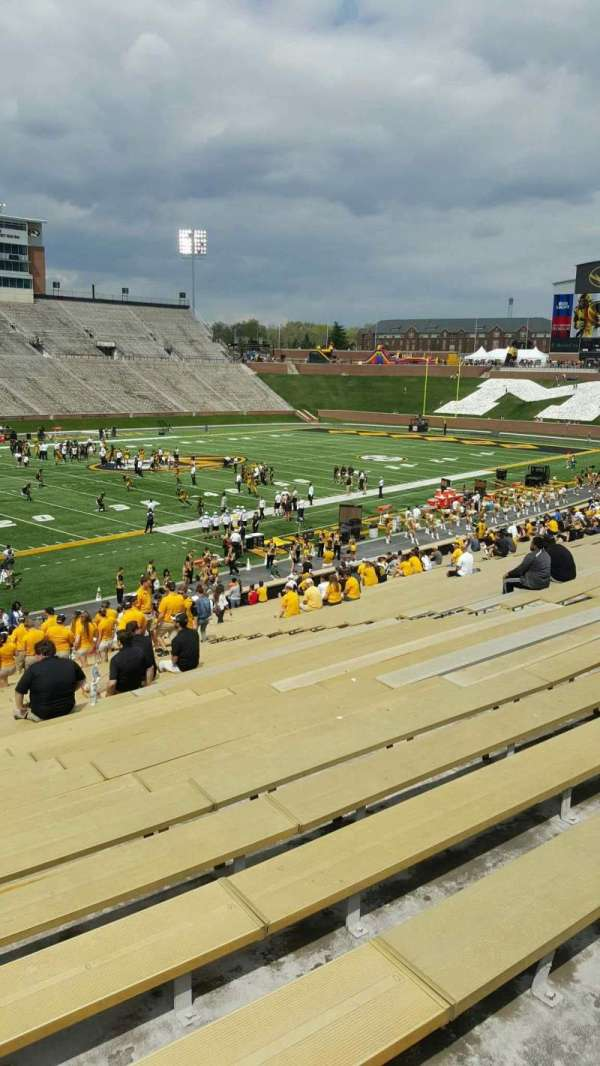 Faurot Field , section: 102, row: 35, seat: 22