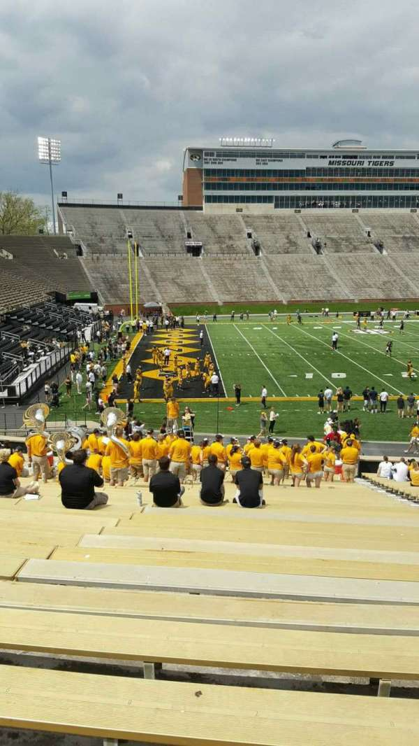 Faurot Field , section: 102, row: 34, seat: 7