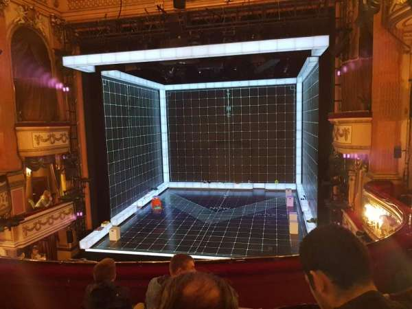 Gielgud Theatre, section: Dress Circle, row: D, seat: 11