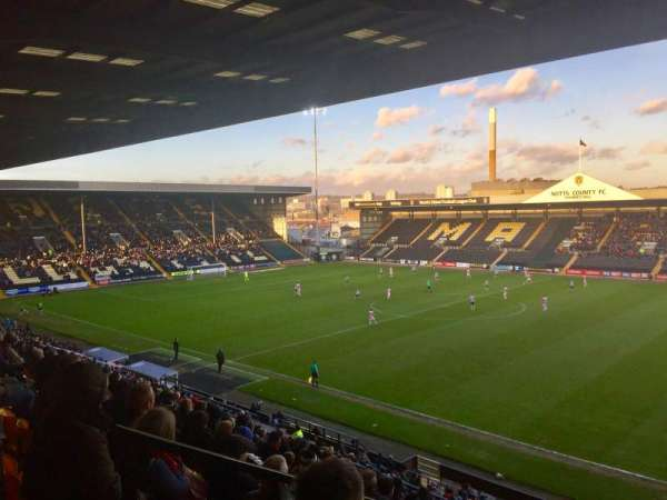 Meadow Lane, section: Derek Pavis Stand block A