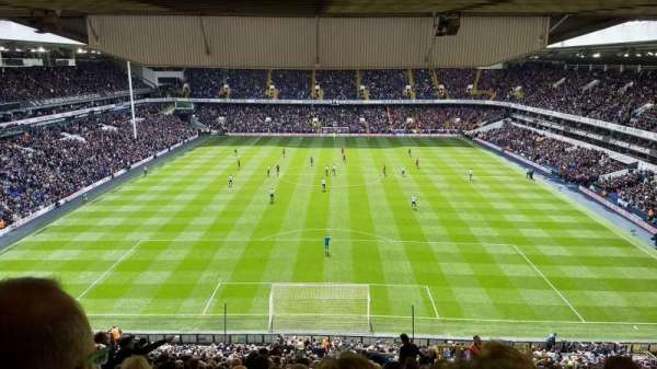 White Hart Lane, section: 53, row: 22, seat: 161