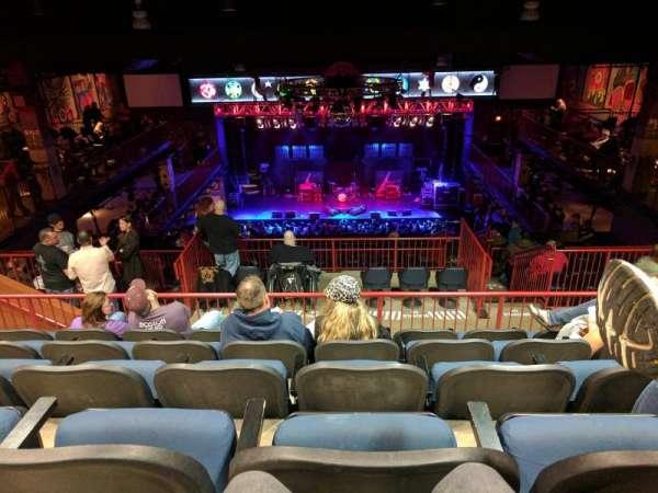 House Of Blues - Boston, section: Stadium, row: E, seat: 312