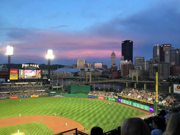 PNC Park, section: 312, row: N, seat: 7
