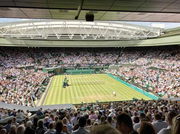 Wimbledon, Centre Court, section: 301, row: S, seat: 103
