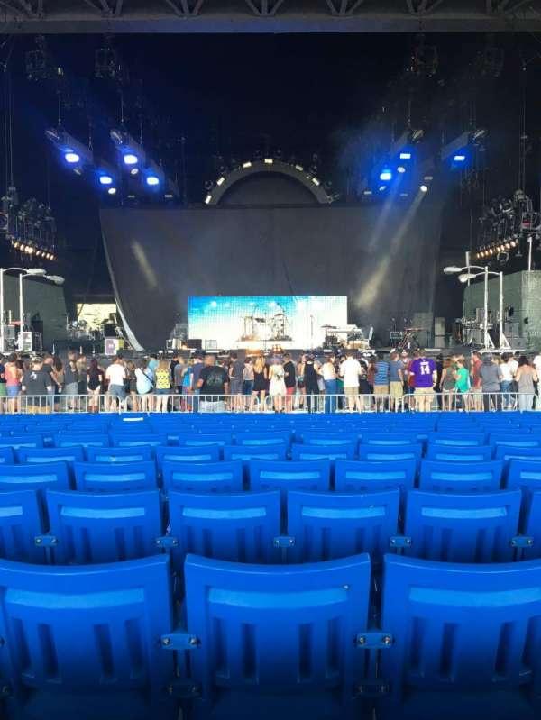 PNC Music Pavilion, section: 2, row: U, seat: 21