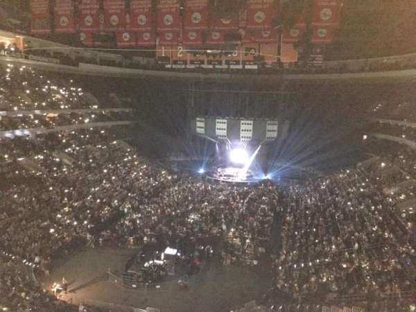 Wells Fargo Center, section: 208, row: 6, seat: 5