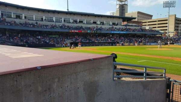 Fifth Third Field, section: 116, row: E, seat: 20