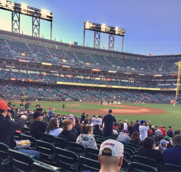 AT&T Park, section: LB103, row: 21, seat: 11-12