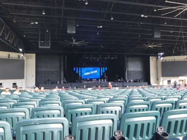 Dos Equis Pavilion, section: 203, row: AA, seat: 27