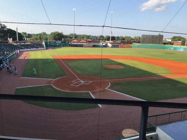 Bowling Green Ballpark, section: 205, row: A, seat: 3,4
