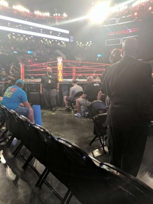 Barclays Center, section: F3, row: 2, seat: 1