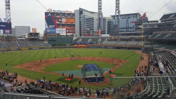 SunTrust Park, section: 228, row: 3, seat: 1-4