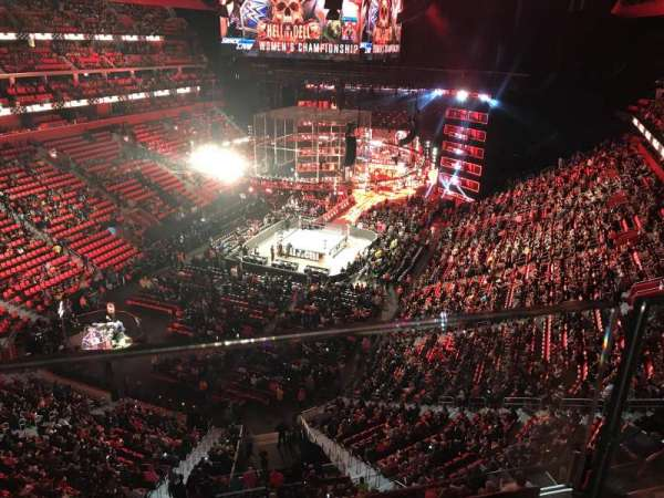 Little Caesars Arena, section: 217, row: 1, seat: 6