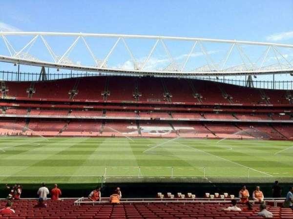 Emirates Stadium, section: 1, row: 22, seat: 25