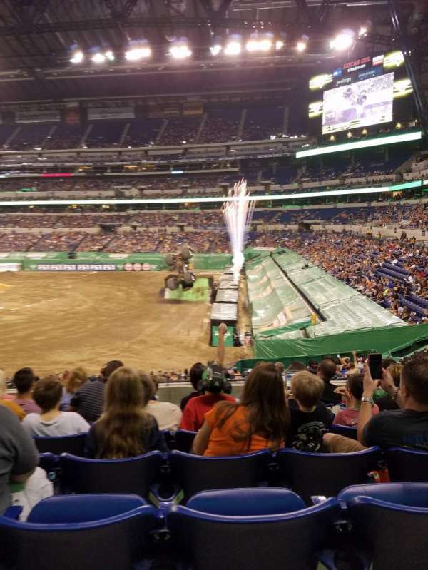 Lucas Oil Stadium, section: 235, row: 17, seat: 17