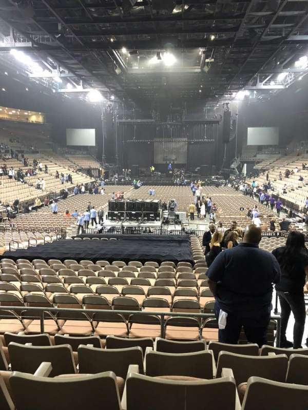 Mandalay Bay Events Center Section 113 Home Of Las Vegas Aces