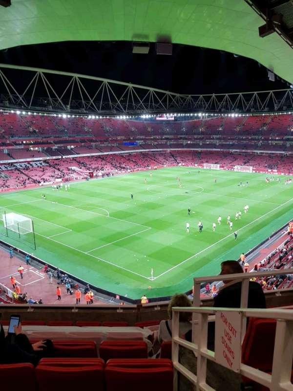 Emirates Stadium, section: 119, row: 8, seat: 779