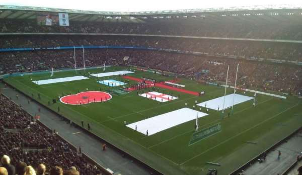 Twickenham Stadium, section: EAST UPPER, row: H, seat: 44