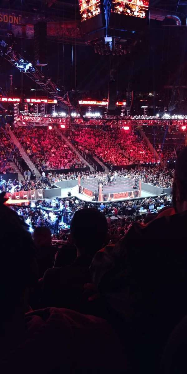 State Farm Arena, section: 213, row: E, seat: 18