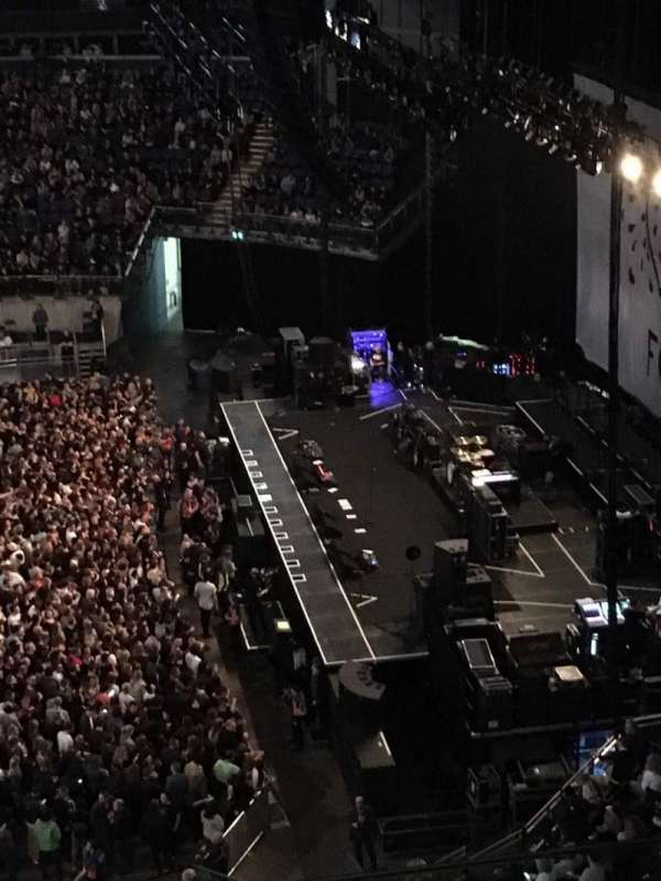 The O2 Arena, section: 421, row: C, seat: 961