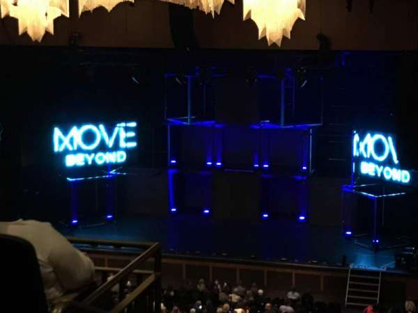 The Theater at MGM National Harbor, section: 302, row: K, seat: 19