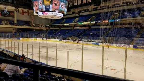 Mohegan Sun Arena at Casey Plaza, section: 114, row: H, seat: 6