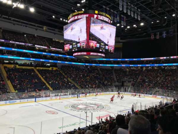 Centre Vidéotron, section: 103, row: JJ, seat: 16
