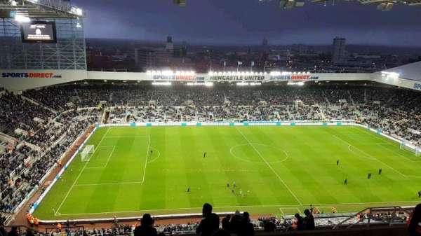 St James Park, section: L7G, row: R, seat: 174