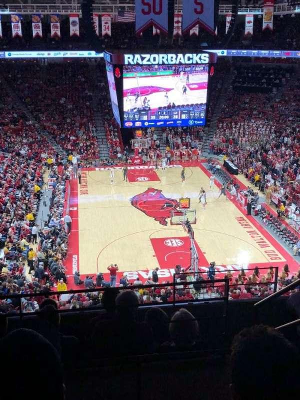 Bud Walton Arena, section: 210, row: 7, seat: 105