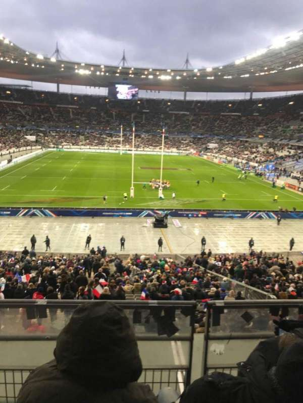 Stade de France, section: L12, row: 37, seat: 25