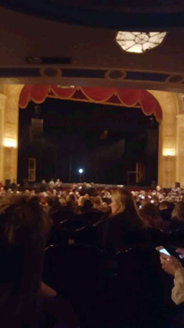 Detroit Opera House, section: Main Floor 3, row: Y, seat: 117