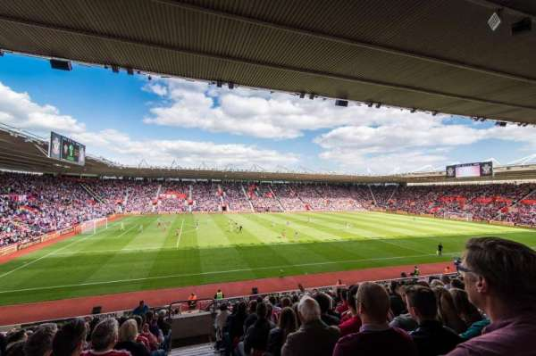 St Mary's Stadium, section: 34
