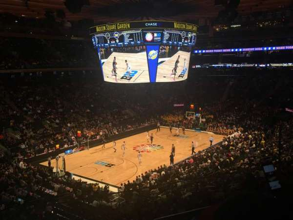 Madison Square Garden, section: 207, row: 2, seat: 16