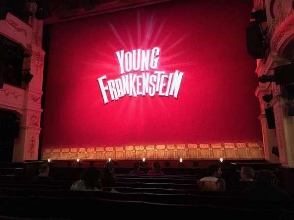 Garrick Theatre, section: Stalls, row: H, seat: 6