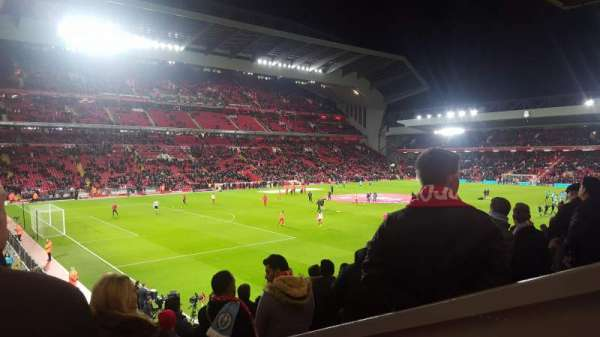 Anfield, section: Kop grandstand, row: 37