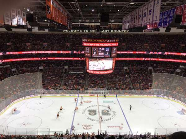 Wells Fargo Center, section: 201, row: 12, seat: 3