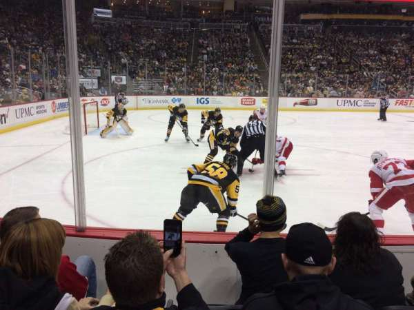 PPG Paints Arena, section: 104, row: D, seat: 10