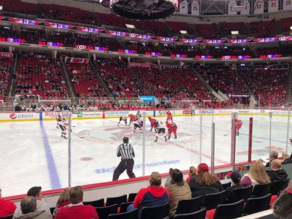 PNC Arena, section: 120, row: G, seat: 10