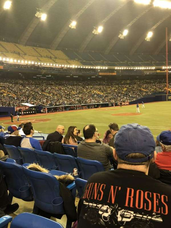 Olympic Stadium, Montreal, section: 111, row: Kk, seat: 10