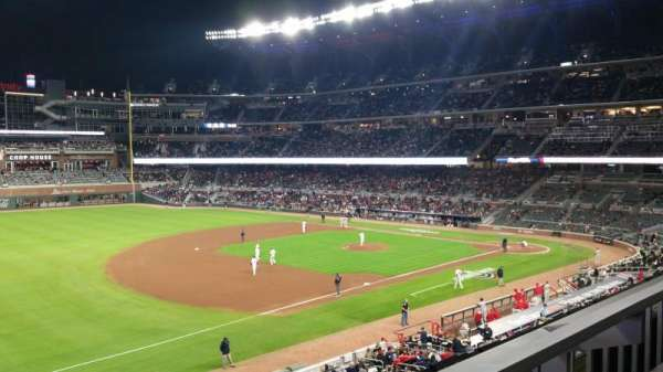 SunTrust Park, section: 238, row: 1, seat: 10