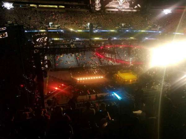 Smoothie King Center, section: 318, row: 8