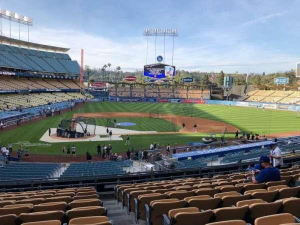 Dodger Stadium, section: 120LG, row: K, seat: 4-7