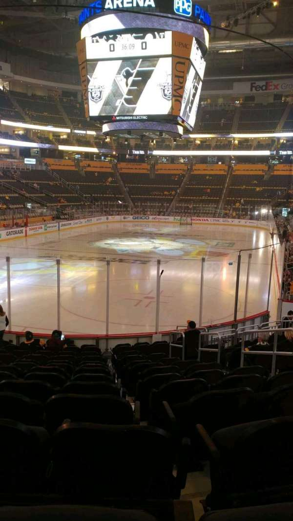 PPG Paints Arena, section: 117, row: P, seat: 5