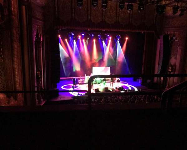 Fox Theatre Oakland, section: Loge, row: B, seat: 1