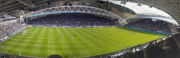 John Smith's Stadium, section: Revel Ward Stand, row: MM, seat: 166