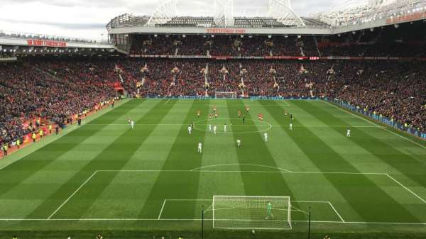 Old Trafford, section: E333, row: 3, seat: 98